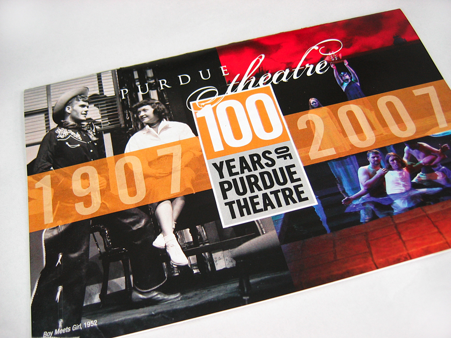 Purdue Theatre 2006-07 Season Brochure