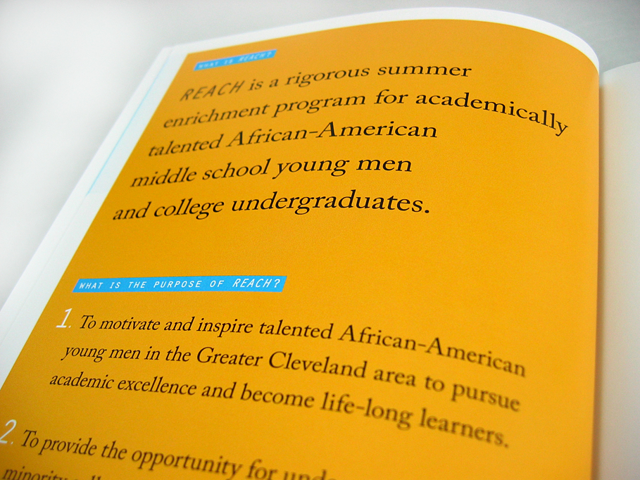 University School REACH Brochure