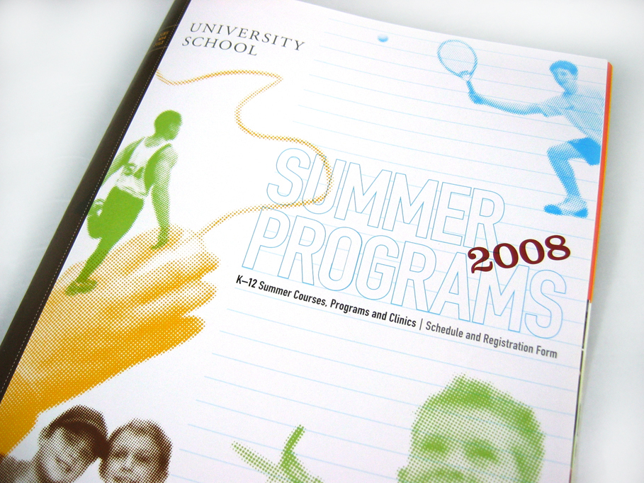 University School 2008 Summer Programs Brochure