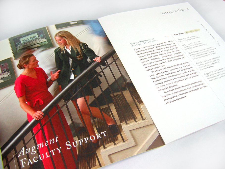 Western Reserve Academy Capital Campaign Materials